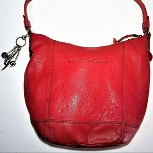 The Sak Bags - the sak red leather purse - GORGEOUS!